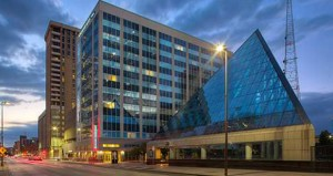 New Homewood Suites Busy for JFK Anniversary