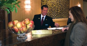 Hotel Concierges Take a Personal Approach