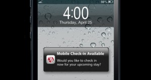 Marriott Mobile Check-In Goes Global