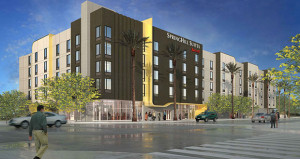 R.D. Olson Breaks Ground on SpringHill Suites in Burbank, Calif.