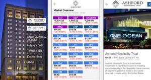 Ashford Prime Debuts App Aimed at REIT Investors