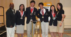 California High School Team Wins HTMP International Competition