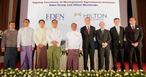 Five Hilton Hotels & Resorts Properties Signed In Myanmar