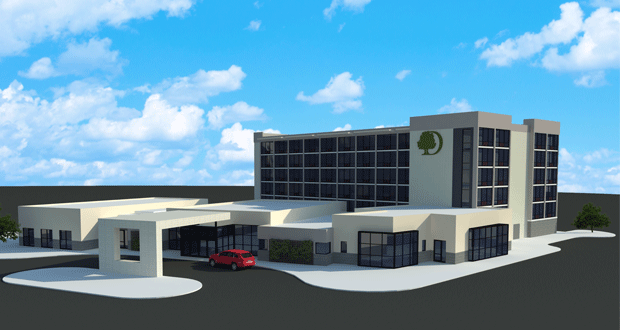Construction Begins on DoubleTree Lafayette East