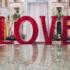 Venetian Las Vegas Displays 'Love' Art Installation