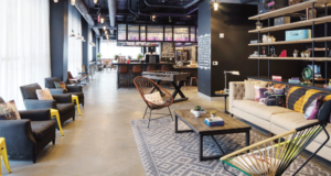 Check Out the Moxy New Orleans Lobby