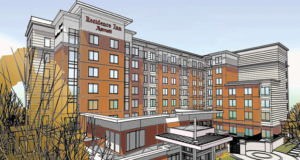 Residence Inn Atlanta Perimeter Center Dunwoody Tops Off