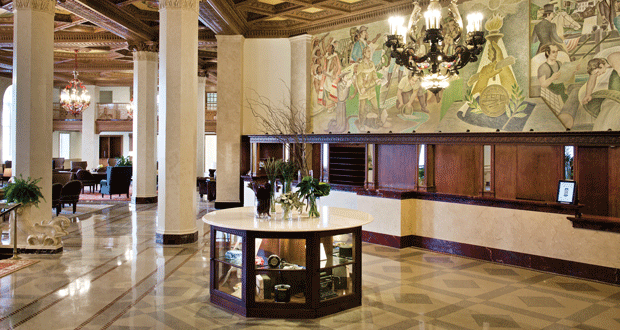 Check Out the Marriott Syracuse Downtown Lobby