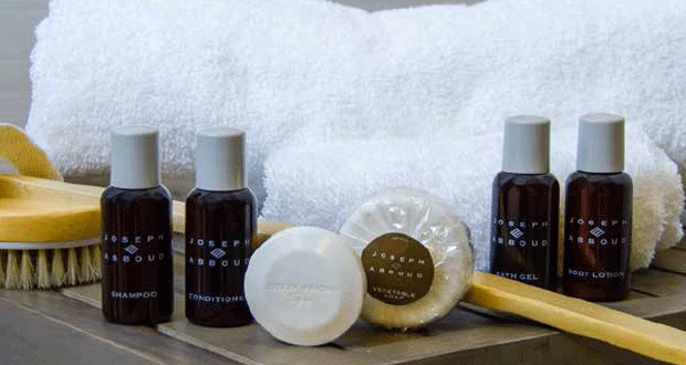 Joseph Abboud and Essential Amenities Debut Guestroom Amenities