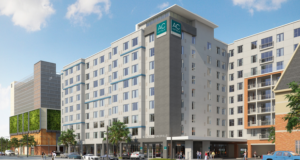 AC Hotel Gainesville Hits Construction Milestone