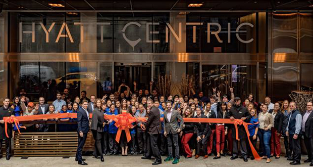 Hyatt Centric Times Square New York Celebrates Opening