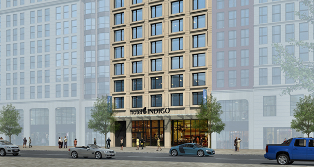 Hotel Indigo Breaks Ground in New York's Financial District
