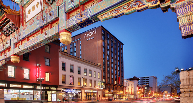 BD Hotels Opens Pod DC Micro-Hotel