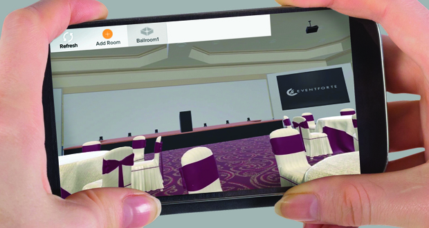 Virtual Reality Platform Uses App To Showcase Event Spaces
