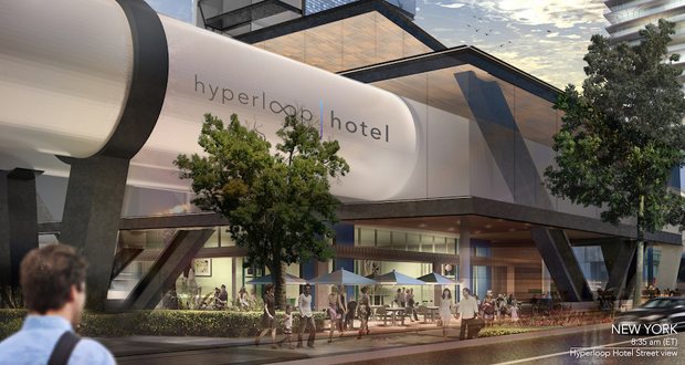 Radical Innovation-Hyperloop Hotel