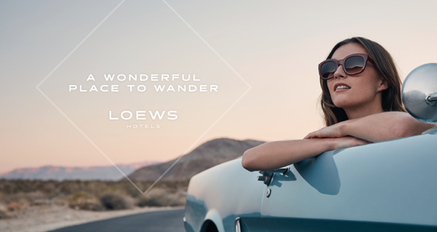 Loews Hotels' New Ad Campaign Targets Experiential Travelers