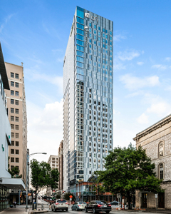White Lodging Aloft and Element hotel complex in Austin