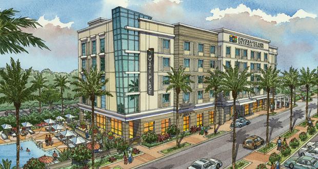 Hyatt Place Hotel Planned for Sandestin Town Center