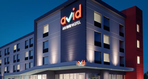 avid hotels' logo