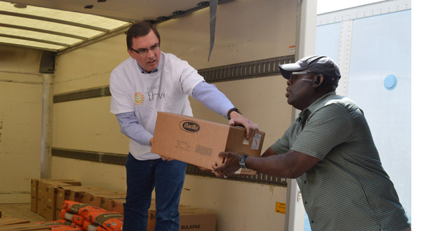 Hyatt Donates 1,500 Pounds of Food