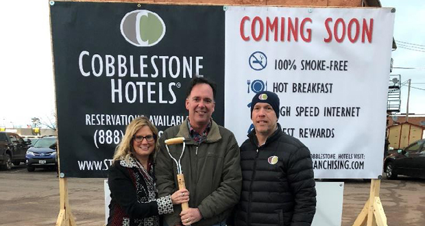 Cobblestone Inn & Suites Breaks Ground in Ashland, Wisconsin