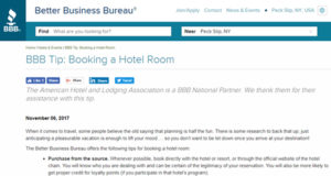 AHLA and BBB Team Up to Fight Online Hotel Booking Scams