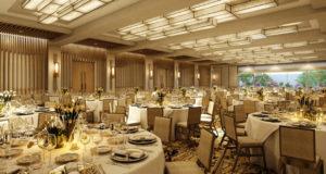 Designing a Ballroom To Maximize Revenue