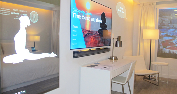 Marriott, Samsung, and Legrand Launch IoT Guestroom Lab