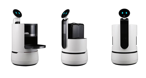 LG Develops Robots to Take on Hotel Service Functions