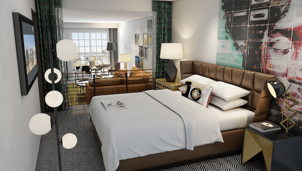 Two West Hollywood Boutique Hotels Debut Renovations in Spring 2018
