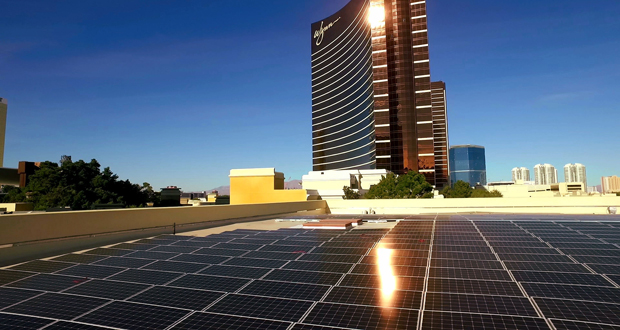 Wynn Las Vegas Opens New Solar Facility to Offset Resort Power Needs