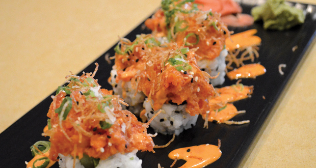 TAMO Spicy Tuna Roll