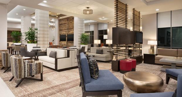 Home2 Suites by Hilton Birmingham Downtown lobby