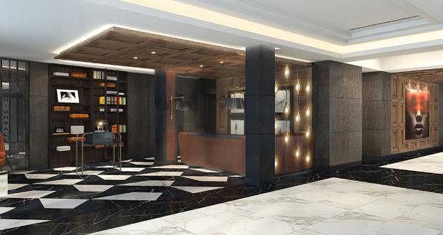Kimpton Nine Zero Lobby