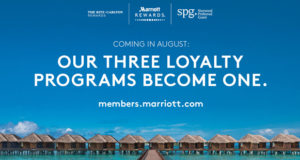 Marriott to Unite All Loyalty Programs in August 2018