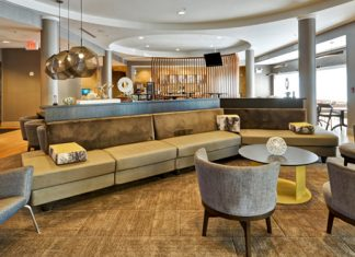 SpringHill Suites Tallahassee Central Florida Lobby