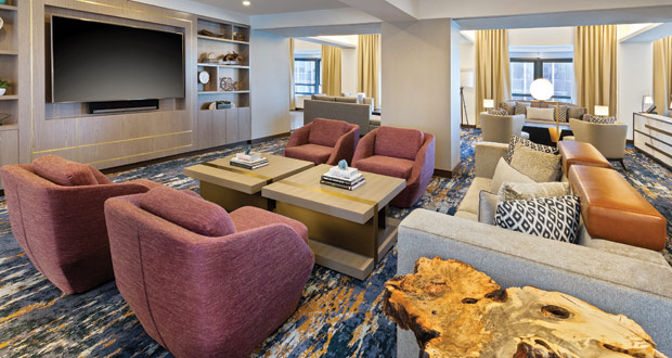 A Midtown Manhattan Hotel Designed for Living and Entertaining