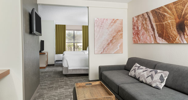 SpringHill Suites by Marriott Asheville Guestroom