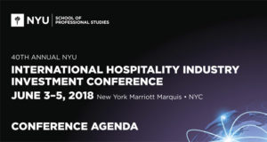 NYU International Hospitality Industry Investment Conference Releases Details