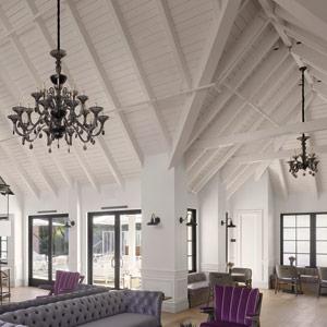 Vintage House Lobby ceilings