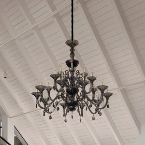 Vintage House Lobby chandelier