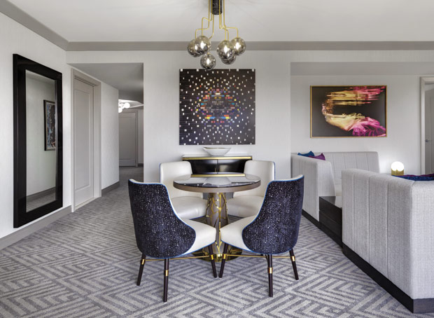 Wraparound Terrace Suite at The Cosmopolitan Las Vegas