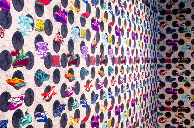 Tryp Newark Lobby Wallpaper