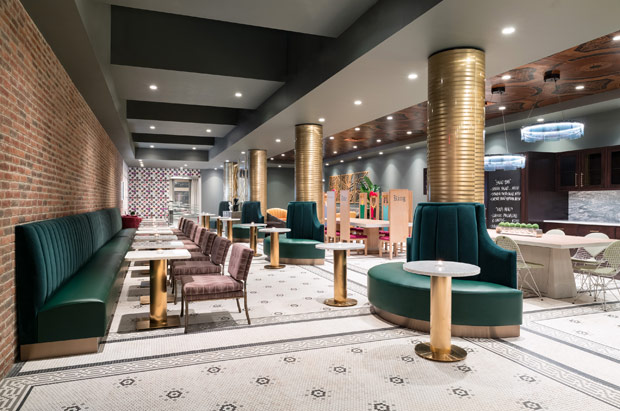 Tryp Newark Dining Space