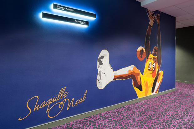 Tryp Newark Wall Mural