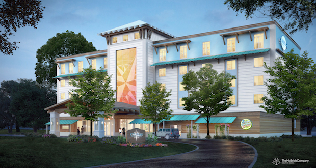 Margaritaville's New Select-Service Hotel Brand—COMPASS