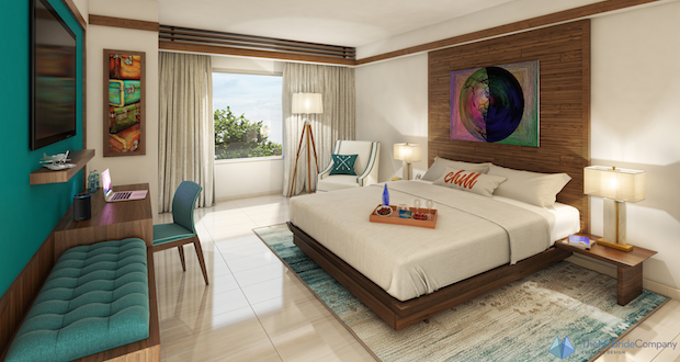 COMPASS guestroom