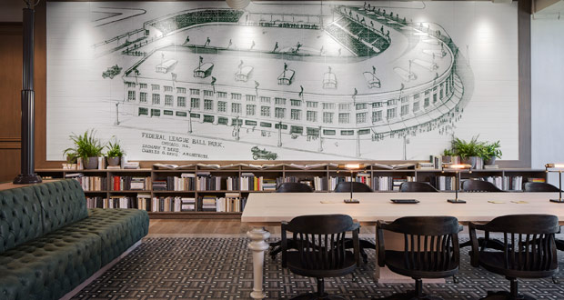 Hotel Zachary: Design Inspired by Chicago's Wrigley Field