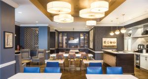 Check Out the Hilton Oak Brook Hills Resort's Executive Lounge