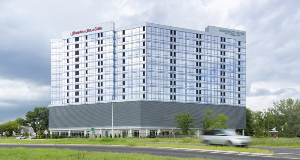 Dual-branded Hampton Inn & Suites and Homewood Suites Steps Out of the Box